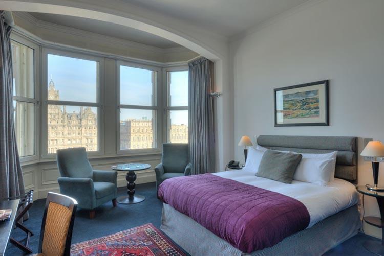 Grassmarket Hotel Bedroom